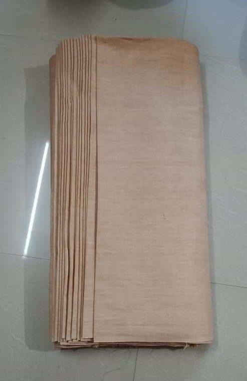 Light Cream Linen Fabric by Meter