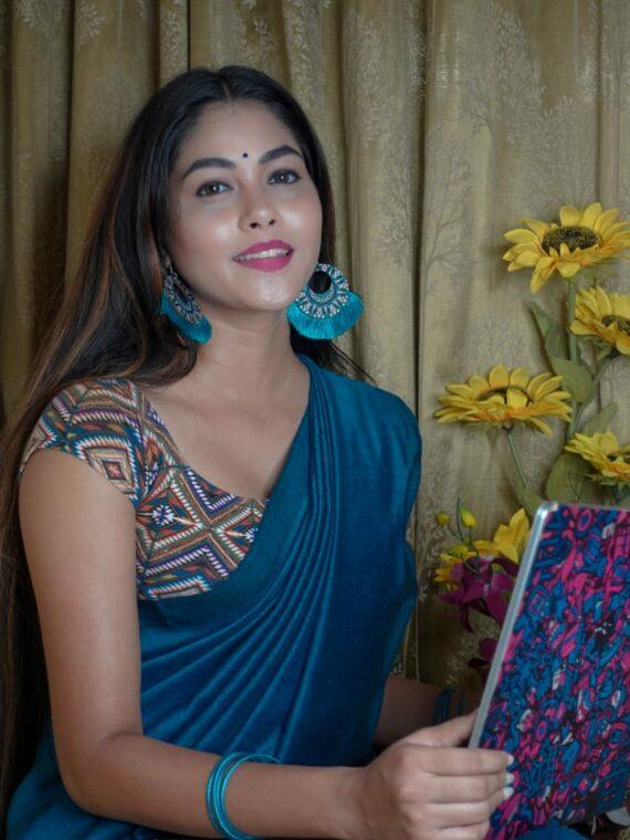 office sarees (3)
