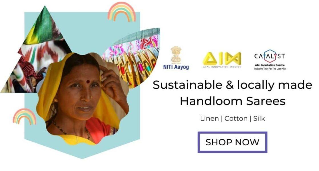 handloom sarees by loomfolks